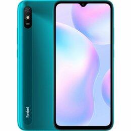 Мобильные телефоны - Смартфон Xiaomi Redmi 9A 2ГБ 32ГБ Peacock Green зелёный, 0