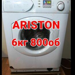 Стиральные машины - Ariston 6kg 800об Всё работает, Б/У, 0