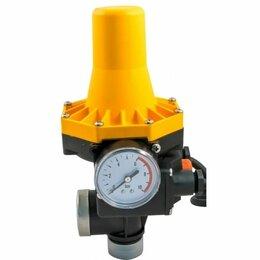 Товары для электромонтажа - Регулятор давления электронный ЭДД-АС, кабель 1,3м+розетка (до 1.1кВт, 10А, 1.5-, 0