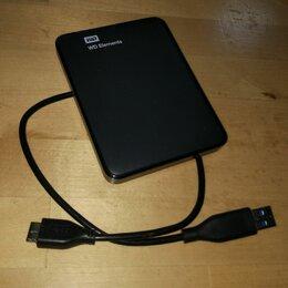 Жёсткие диски и SSD - Внешний жесткий диск WD Elements 1Tb USB 3.0, 0