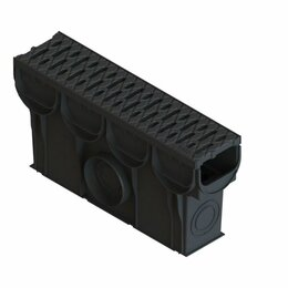 Железобетонные изделия - Пескоуловитель S'park ПУ–10.14.25-ПП с решеткой пластиковой кл. A (к-т), 0