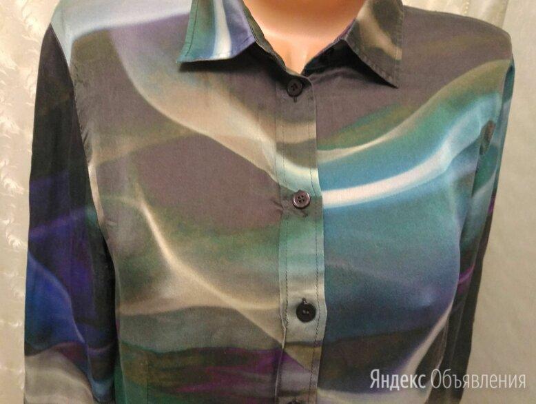 Рубашка с принтом шелк женская по цене 500₽ - Блузки и кофточки, фото 0