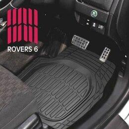 Подставки и держатели - Коврики а/м CarFort «Rovers 6», ванночка, к-т 4шт. black (1/4), 0