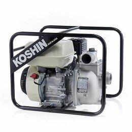 Мотопомпы - Бензиновая мотопомпа Koshin SEH-50JP (двигатель Honda), 0