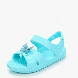 Босоножки, сандалии - Сандалии Crocs для девочек , 0