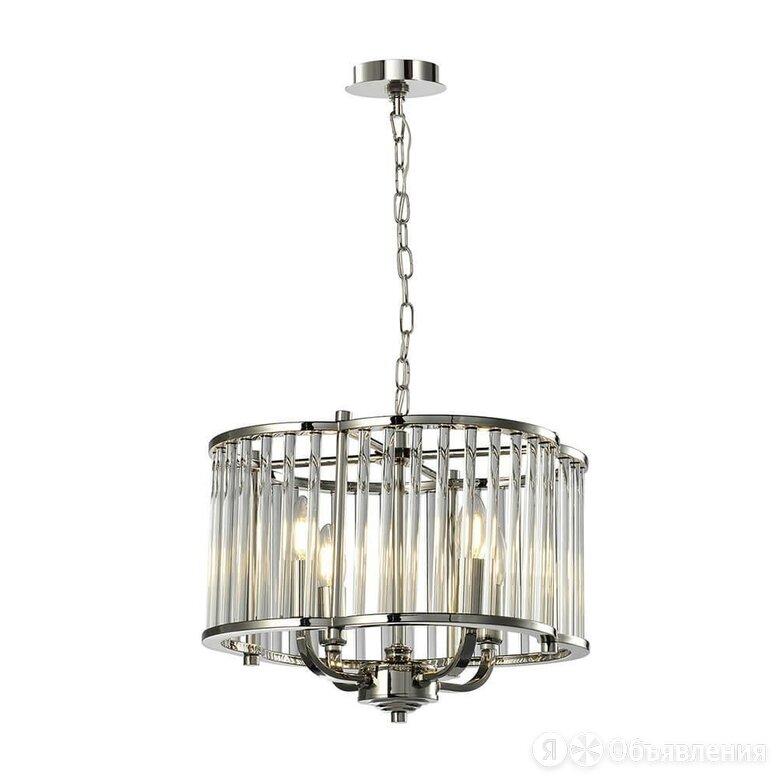 Подвесная люстра Lumien Hall Lenora LH3062/4P-NL-CL по цене 24040₽ - Люстры и потолочные светильники, фото 0