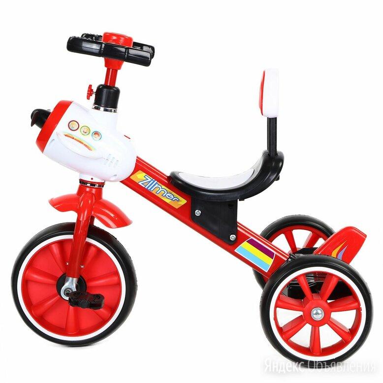"""Трехколесный велосипед zilmer ZV-044 EVA 10/8"""" по цене 2890₽ - Трехколесные велосипеды, фото 0"""