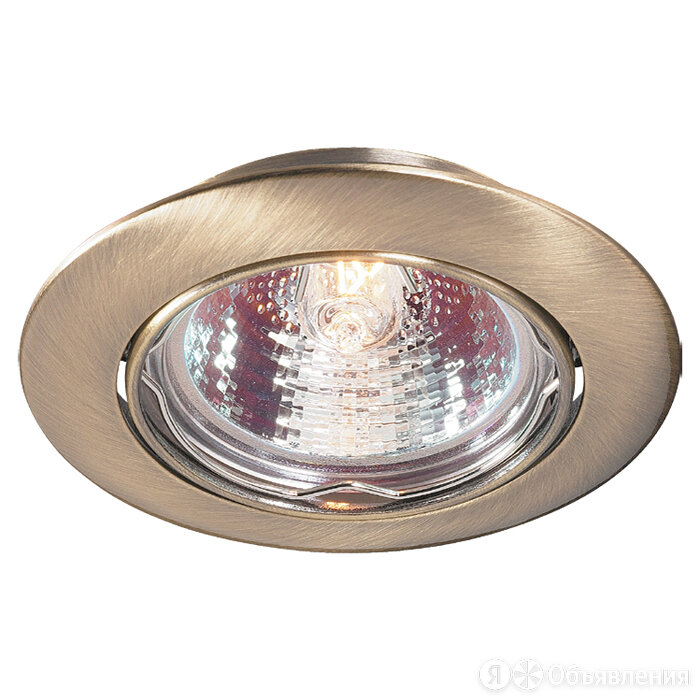 NOVOTECH 369429 CROWN по цене 420₽ - Встраиваемые светильники, фото 0