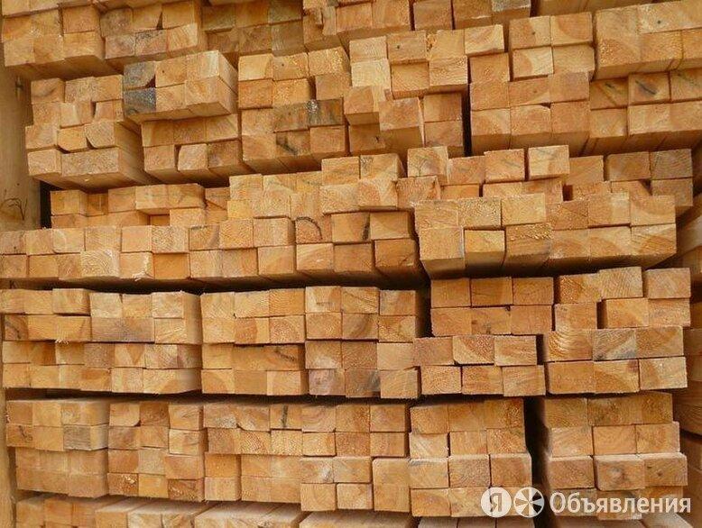 Брусок 50х40х6 естественной влажности М по цене 280₽ - Пиломатериалы, фото 0