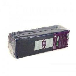 Бумажные салфетки, носовые платки - Салфетки бумажные 1сл 400л 24х24см Plushe, 0