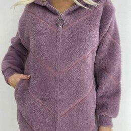 Свитеры и кардиганы - Женское короткое пальто альпака р-ры 48-60, 0