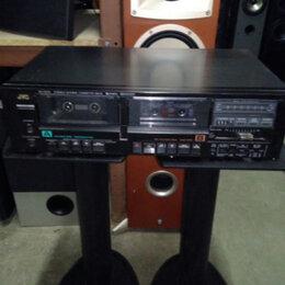 Музыкальные центры,  магнитофоны, магнитолы - Кассетная дека JVC KD-W110 Made in Japan, 0