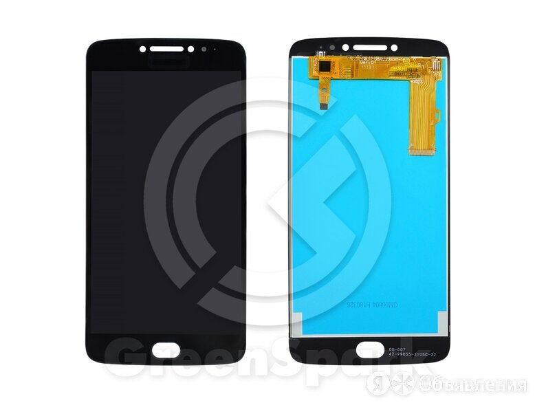 Дисплей для Motorola Moto E4 Plus XT1771 +тач чер по цене 1600₽ - Дисплеи и тачскрины, фото 0