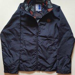 Куртки и пуховики - Ветровка детская Jack&Jones, рамер 140 см, цвет темносиний, состояние отличное , 0