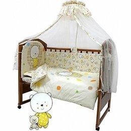"""Покрывала, подушки, одеяла - Комплект в кроватку топотушки """"Мой Медвежонок"""" (7 предметов), 0"""