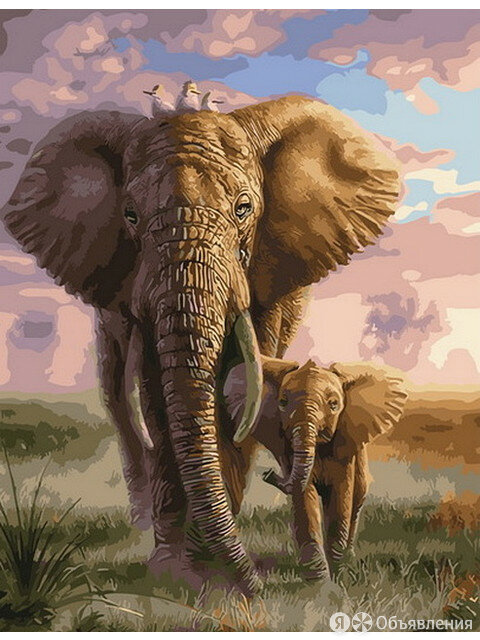 Слоненок на прогулке с мамой Артикул : GX 29630 по цене 375₽ - Аксессуары и комплектующие, фото 0