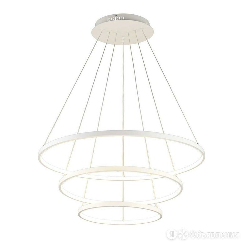 Подвесная светодиодная люстра Omnilux Pesaro OML-04803-113 по цене 16710₽ - Люстры и потолочные светильники, фото 0