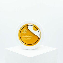 Спортивная защита - Альгинатная маска для гладкости и сияния J:ON Smooth & Shine Modeling Pack, 0
