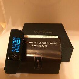 Умные часы и браслеты - Умный браслет с измерением давления и кислорода, 0