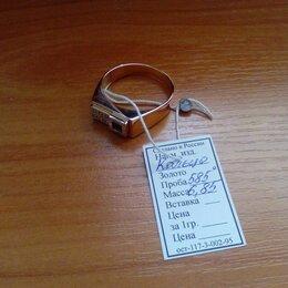 Кольца и перстни - Печатка золотая (Новая), 0