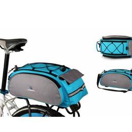 Перевозка багажа - Сумка на багажник, крепление двумя липучками, уплотнение из пенки, 13 л, 14541, 0