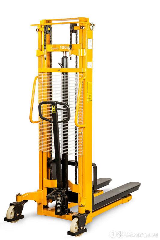 Штабелер ручной гидравлический TOR MS 1.0TX3.0M по цене 75200₽ - Грузоподъемное оборудование, фото 0