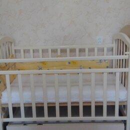 Кроватки - Детская кровать с матрасом не дорого, 0