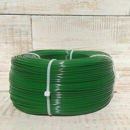 Расходные материалы для 3D печати - PETG пруток 1.75 мм зеленый полупрозрачный, бухта 750р, 0