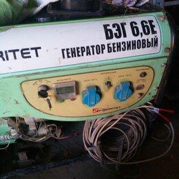 Электрогенераторы - Генератор почти новый, 0