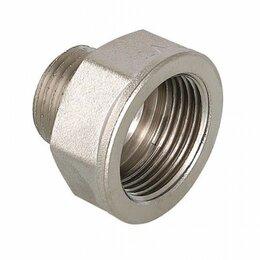 Кабели и разъемы - Переходник (никель)  вн-нар  1/2«х 1/4» Stout SFT-0008-001214, 0