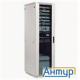 Прочее сетевое оборудование - ЦМО ШТК-М-18.6.8-1aaa Шкаф телеком. напольный 18u (600x800) дверь стекло  (2 ..., 0