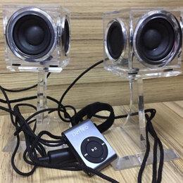 Комплекты акустики - Новые стереоколонки Crystal Sound с плеером, 0
