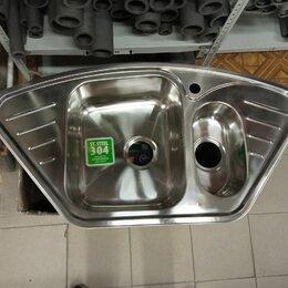 Кухонные мойки - Мойка, нерж. Сталь, полированная, угловая, Strit S, STR96PCi77, 0