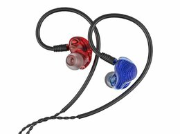 Наушники и Bluetooth-гарнитуры - FiiO FA1 внутриканальные наушники, Blue/Red, 0