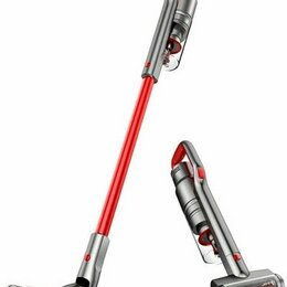 Вертикальные пылесосы - Беспроводной пылесос Jimmy JV65 Cordless Vacuum Cleaner - красный, 0