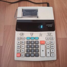 Калькуляторы - Калькулятор с печатью citizen cx-126 II, 0