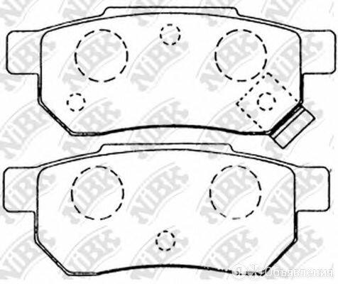 Колодки тормозные дисковые зад NIBK PN8206 по цене 1421₽ - Тормозная система , фото 0