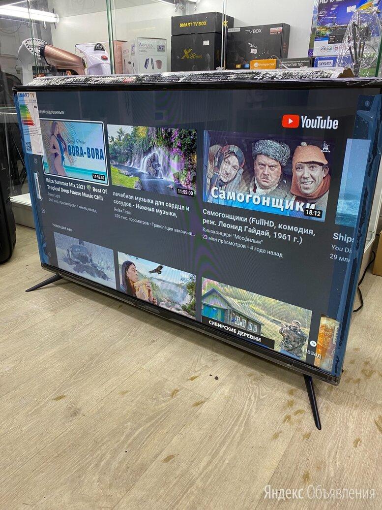 Телевизор smart tv 42 4к WiFi android (новый) по цене 13990₽ - Телевизоры, фото 0
