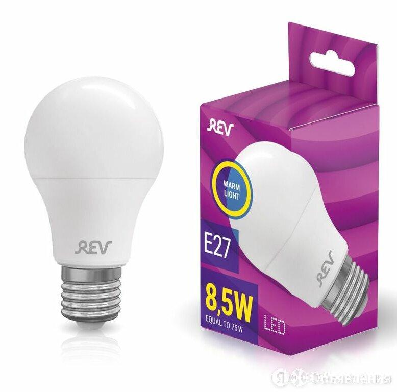 Лампа сд A60 Е27 8,5W, 2700K, REV теплый свет по цене 52₽ - Лампочки, фото 0