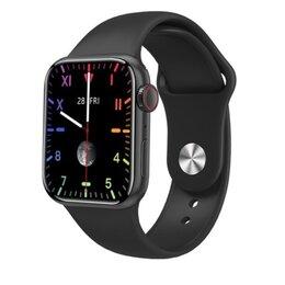 Умные часы и браслеты - Смарт часы. Чёрные. 44 мм., 0