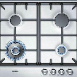 Плиты и варочные панели - Газовая варочная панель Bosch PCH615B90E новая, 0
