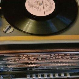 Проигрыватели виниловых дисков - Советский радиопроигрыватель Урал 111, 0