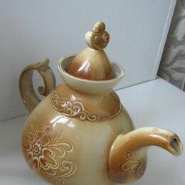 Заварочные чайники - Большой керамический чайник 2,5 литра, 0