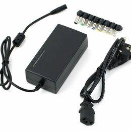 Аксессуары и запчасти для ноутбуков - Универсальное зарядное устройство для ноутбука 96 Watt 8 переходников , 0