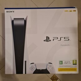 Игровые приставки - Playstation 5 Sony с диководом CFI-1008A. С диском., 0