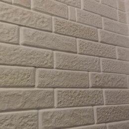Облицовочный камень - Кладка гипсового кирпича. Имеется сертификат качества. Экологически чистый, 0