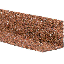 Уголки, кронштейны, держатели - Уголок внутренний металлический HAUBERK Красный 50*50*1250мм, 0