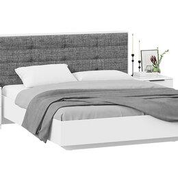 Кровати - Спальный гарнитур «Тесса» стандартный без шкафа, 0