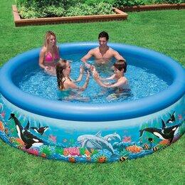 Бассейны - бассейн с надувным кольцом 366*76см, 0