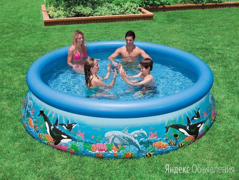 бассейн с надувным кольцом 366*76см по цене 6700₽ - Бассейны, фото 0